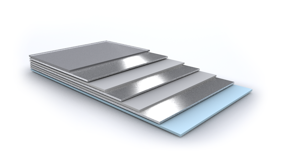 ISOLPAK CLAD SILVER 7layer